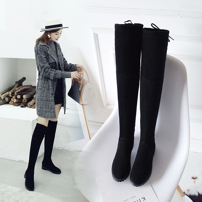 Women S Winter Fashion 2019 Thigh High Over The Knee Boots Exparis