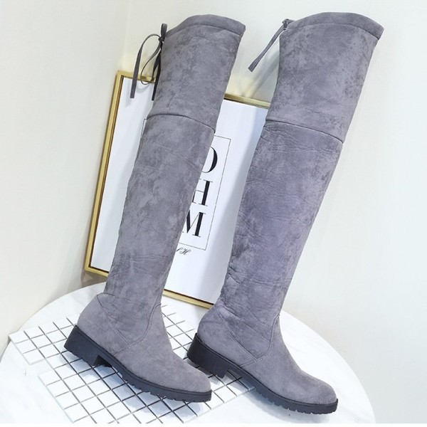 winter over the knee boots